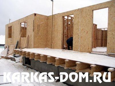 Деревянно-каркасная конструкция