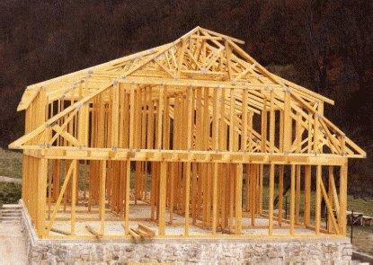 ОСП технология каркасных домов